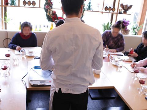 デモンストレーション料理教室