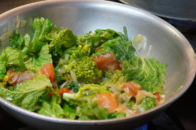 野菜たっぷりアーリオ・オーリオ